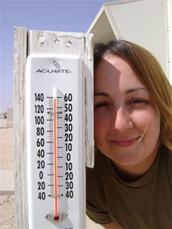 138 degrees in Kuwait