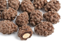 Dark Chocolate Turbinado Sea Salt Almonds