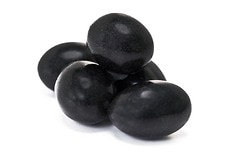 Chocolate Jordan Almonds (Black)