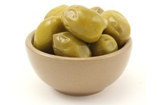 Green Herb Olives