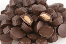 Milk Chocolate Mini Peanut Butter Cups (Sugar Free)