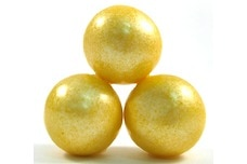 Yellow Shimmer Gumballs