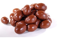 Organic Milk Chocolate Covered Almonds