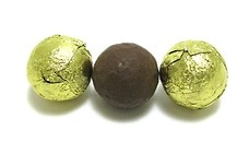 Chocolate Foil Balls (Gold)