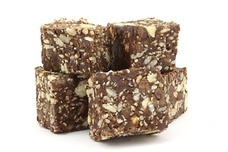 Organic Peanut Chocolate Chip Energy Squares