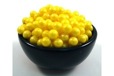 Yellow Shimmer Pearls