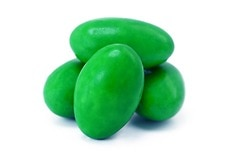 Chocolate Jordan Almonds (Light Green)