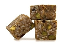 Honey Pistachio Energy Squares