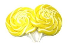 Yellow Whirly Pop (3 Inches)