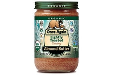 Organic Almond Butter (Lightly Toasted, Smooth)