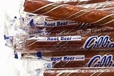 Rootbeer Candy Sticks