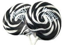 Black Whirly Pop (3 Inches)