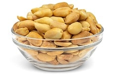 Roasted Virginia Peanuts (Unsalted, No Shell)