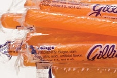 Orange Candy Sticks