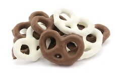 Black & White Pretzels