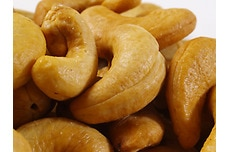 Organic Dry-Roasted Cashews (Unsalted)