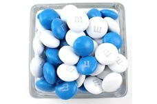 Blue and White M&M's®