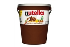 Giant Nutella Tub