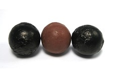 Chocolate Foil Balls (Black)