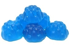 Gummy Blue Raspberries