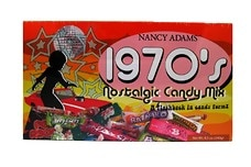 1970's Retro Candy Box