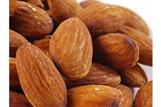 Organic Dry Roasted Almonds (Unsalted)