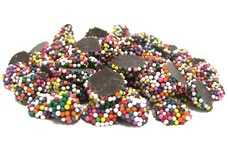 Mini Dark Chocolate Nonpareils (Rainbow)