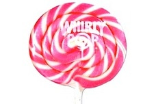 Pink Whirly Pop (3 Inches)