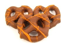 Fall Chocolate Pretzels