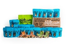 box of 130 snack pack bags