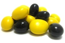 Black and Yellow Candy