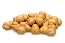 Roasted Golden Chickpeas (Unsalted)