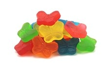 Gummy Butterflies (Sugar-Free)