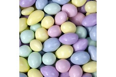 Chocolate Jordan Almonds (Pastel Mix)