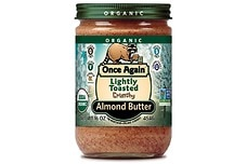 Organic Almond Butter (Lightly Toasted, Crunchy)