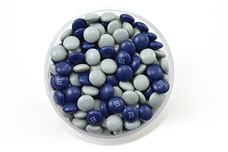 Dark Blue and Silver M&M's®