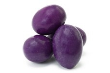 Chocolate Jordan Almonds (Purple)