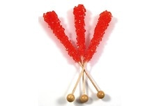 Red Rock Candy Sticks (Unwrapped)