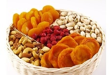 Mixed Nut & Fruit Tray (5.5 lbs.)