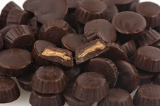Mini Dark Chocolate Peanut Butter Cups