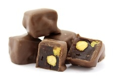 Chocolate Covered Pistachio Turkish Delight