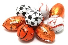 Link to Chocolate Foil Sport Balls