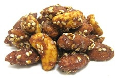 Sesame Teriyaki Almonds & Cashews