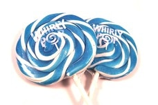Light Blue Whirly Pop (3 Inches)