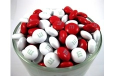 Red and White M&M's®