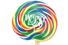 Rainbow Whirly Pop (5 ¼  inches)
