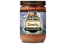 Almond Butter (Roasted, Crunchy)