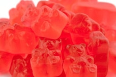 Raspberry Gummy Bears