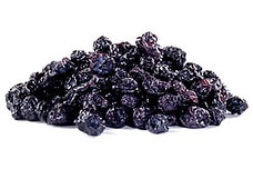 Natural Dried Blueberries (Juice Infused)