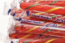 Island Punch Candy Sticks
